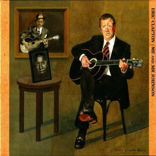 Eric Clapton – Me and Mr. Johnson (LP)Me and Mr. Johnson – альбом Эрика Клэптона, выпущенный в 2004 году. Альбом является трибьютом легендарному блюзмену Роберту Джонсону (Robert Johnson).<br>