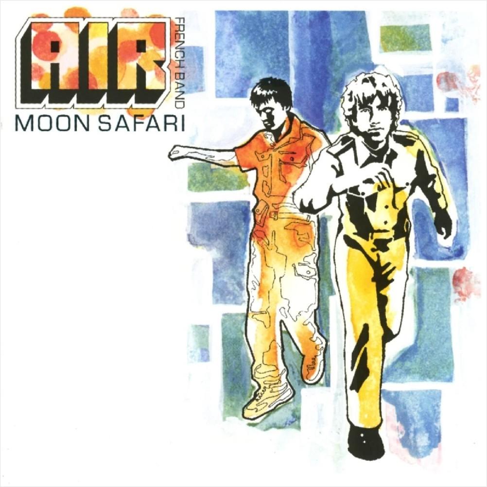 AIR – Moon Safari (LP)Moon Safari – дебютный альбом от французского дуэта Air, который вышел в 1998 году. Начало музыкальной карьеры у ребят явно удалось – пластинка стала золотой во Франции и платиновой в Британии.<br>