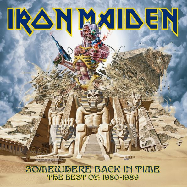 Iron Maiden – Somewhere Back In Time. The Best Of: 1980–1989 (2 LP) виниловая пластинка iron maiden somewhere in time