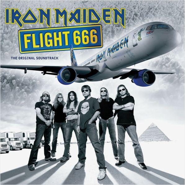 Iron Maiden – Flight 666 (2 LP)Flight 666 – это звуковая дорожка к концертному фильму британской рок-группы «Iron Maiden». Выступления были записаны во время мирового турне «Somewhere Back In Time World Tour», который проходил в период с февраля по март 2008 года.<br>