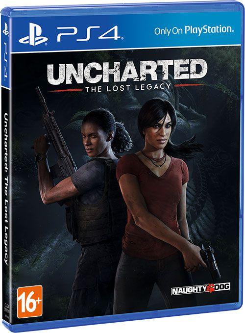 Uncharted 4: Утраченное наследие (The Lost Legacy) [PS4]