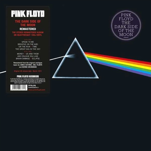 Pink Floyd – Dark Side Of The Moon (2011 Remastered) (LP) the dark side of technology