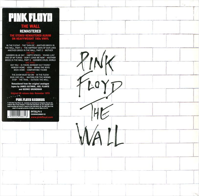 Pink Floyd – The Wall (2LP)The Wall (Стена) &amp;ndash; девятый студийный альбом британской прогрессив-рок группы Pink Floyd, выпущенный 30 ноября1979 года.<br>