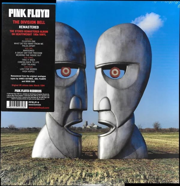 Pink Floyd – The Division Bell. Original Recording Remastered (2 LP) свитшот print bar pink floyd division bell чб