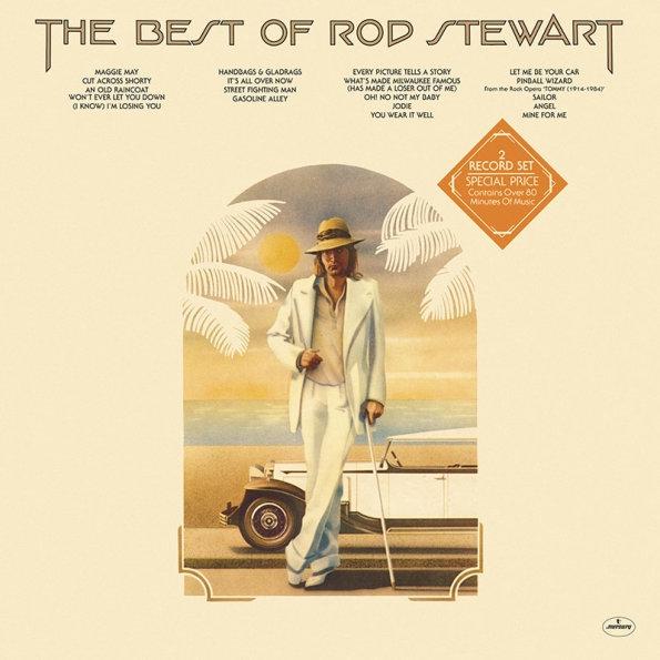 Rod Stewart – The Best Of Rod Stewart (2 LP)The Best Of Rod Stewart – коллекция лучших хитов, записанных Родом Стюартом в период с 1969 по 1975 год. Переиздание оригинальной компиляции 1976 года.<br>