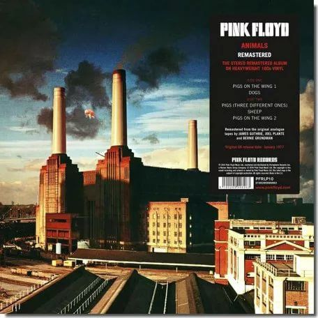 Pink Floyd – Animals (LP) pink floyd – wish you were here limited edition lp