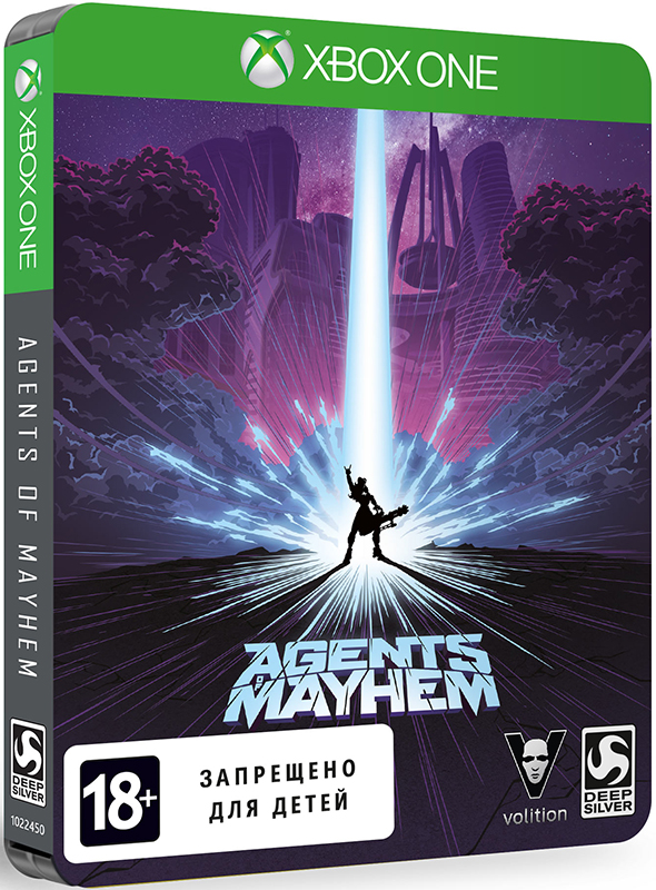 Agents of Mayhem. Steelbook Edition [Xbox One] куплю комнату до 1200000 рублей