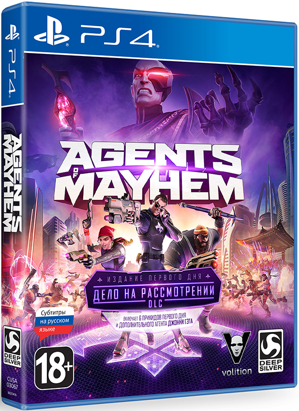 Agents of Mayhem. Издание первого дня [PS4] saints row iv re elected игра для ps4