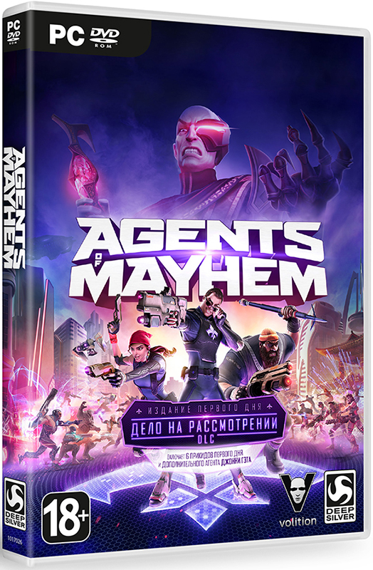 Agents of Mayhem. Издание первого дня [PC] брюки m missoni m missoni mm151ewhap96