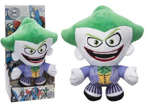 Мягкая игрушка DC: The Joker (20 см)Мягкая игрушка DC: The Joker, созданная по мотивам вселенной CD, воплощает собой одного из самых известных суперзлодеев – Джокера.<br>