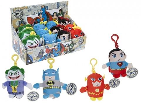 Плюшевый брелок DC: Originals (в ассортименте) (11 см)Плюшевые брелоки DC: Originals, созданные по мотивам вселенной CD, воплощают собой супергероев популярных комиксов.<br>