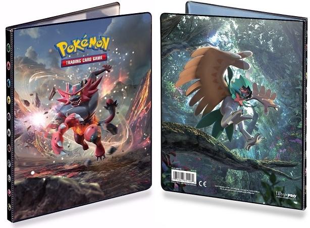 Альбом для карт Pokemon: Инсинероар и Десиджуай настольные игры tomy альбом для карт покемон синий 9 1 pokemon silhouettes pro binder 9 pocket