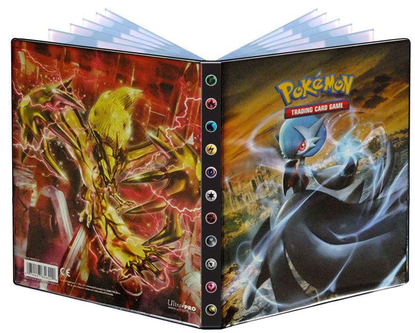 Альбом для карт Pokemon: Мега-Гардевуар и ТУРБО-ИвелталДесятистраничный альбом для карт с печатной обложкой Мега-Гардевуар и ТУРБО-Ивелтал. Вмещает в себя 40 одиночно расположенных или 80 попарно расположенных карт.<br>