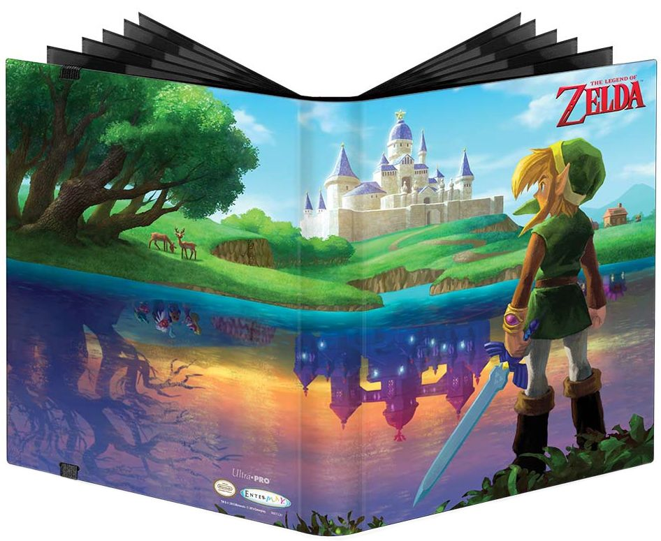 Альбом для карт Pokemon в переплете TLOZ: A Link Between Worlds настольные игры tomy альбом для карт покемон синий 9 1 pokemon silhouettes pro binder 9 pocket