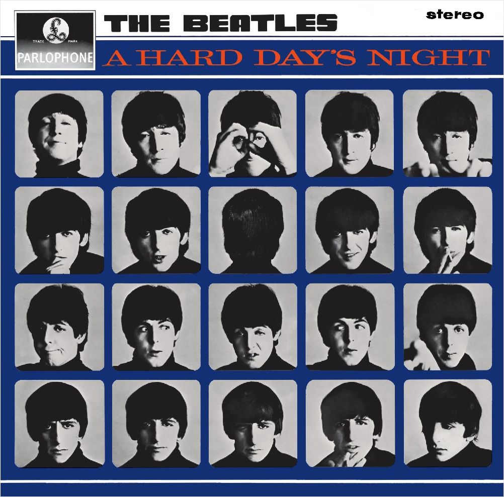 The Beatles – A Hard Day's Night (LP) the beatles the beatles a hard day s night ecd