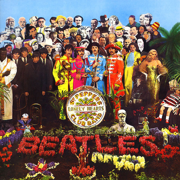 The Beatles – Sgt. Pepper's Lonely Heart Club Band (Mono) (LP) the lonely skier