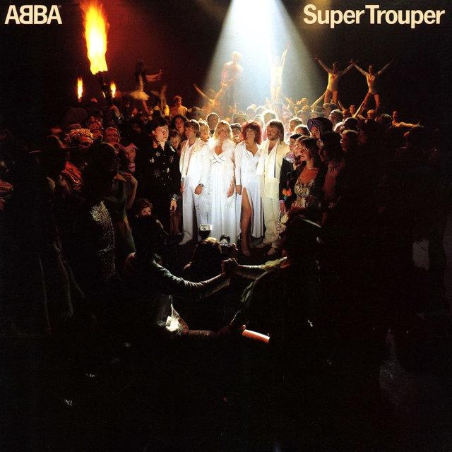 ABBA – Super Trouper (LP)Super Trouper –переиздание седьмого студийного альбома шведского квартета ABBA. Пластинка оказалась весьма успешной, заняв первое место в британском хит-параде, а также стала лидером продаж в Британии в 1980 году.<br>