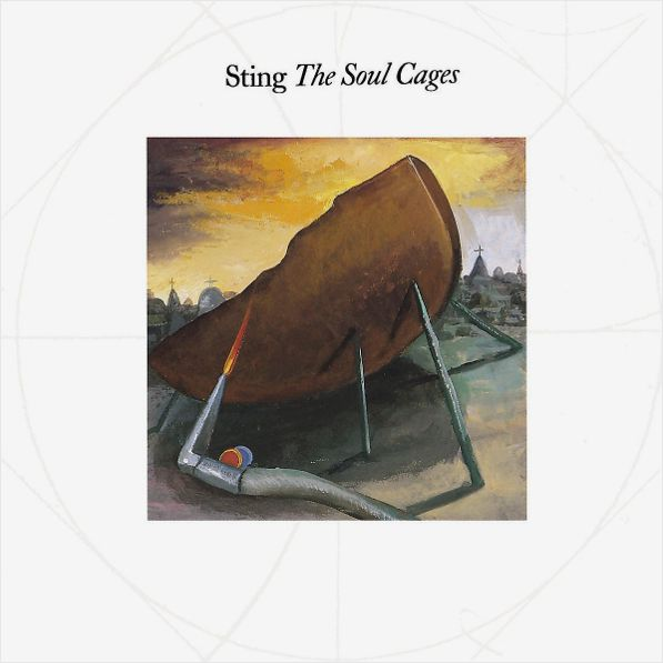 Sting – The Soul Cages (LP) sting sting the complete studio collection 16 lp