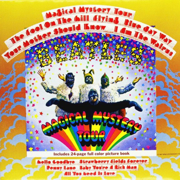 beatles beatles magical mystery tour mono The Beatles – Magical Mystery Tour (LP)