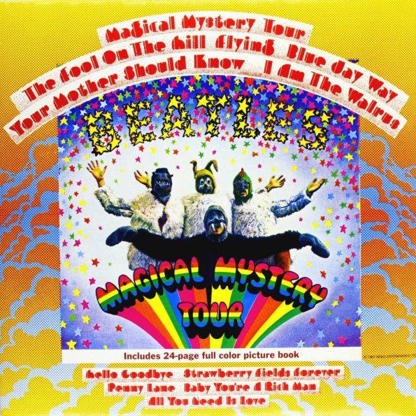The Beatles – Magical Mystery Tour (LP)Magical Mystery Tour – девятая студийная работа Beatles, впервые изданная в 1967 году. Шесть песен с альбома послужили саундтреком к одноименному фильму.<br>