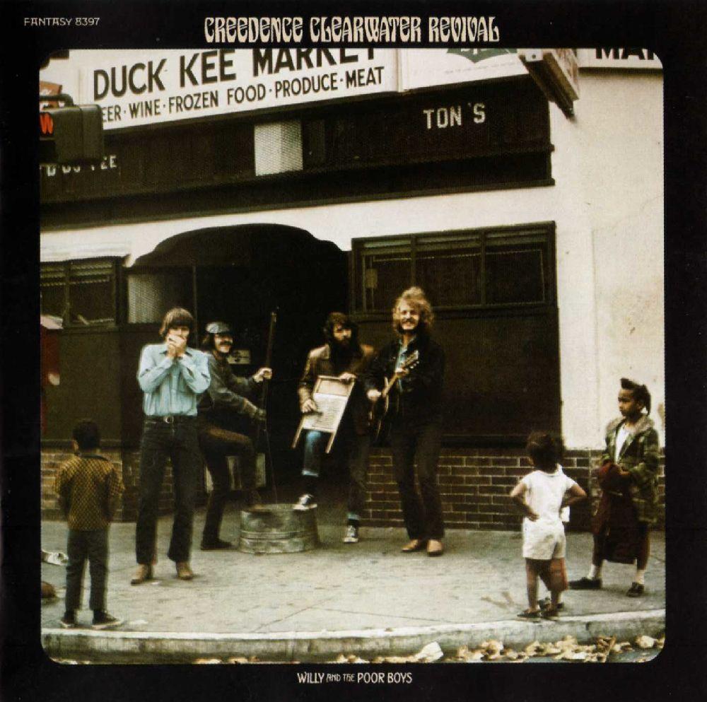 Creedence Clearwater Revival – Willy And The Poor Boys (LP)Willy and the Poor Boys – четвертая студийная работа Creedence Clearwater Revival, впервые изданная в 1969 году. Альбом занял 3 место в чарте Billboard 200 и 10 строчку в UK Albums Chart.<br>