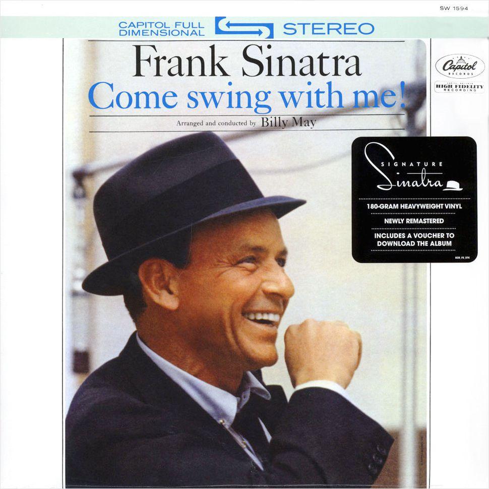 Frank Sinatra – Come Swing With Me! (LP)Come Swing With Me! – переиздание альбома известного исполнителя Frank Sinatra. Оригинал был выпущен в 1961 году.<br>