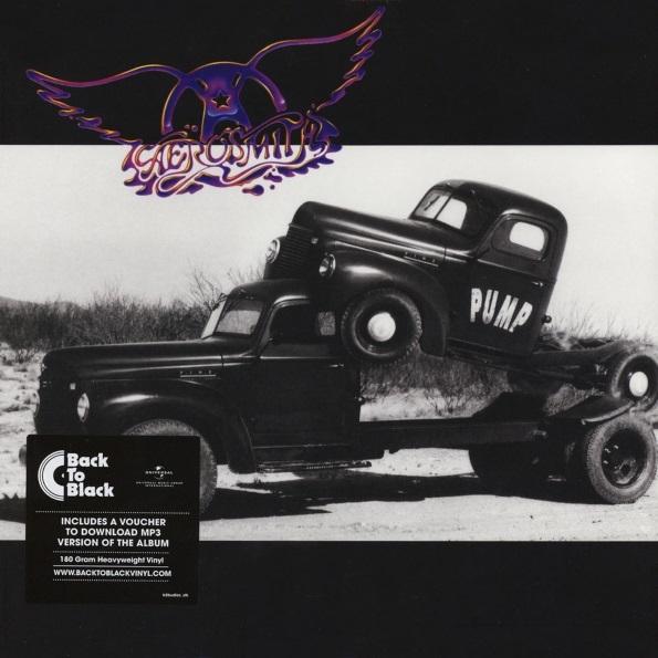 Aerosmith – Pump (LP)Переиздание на виниле оригинального альбома 1989 года Pump американской рок-группы Aerosmith. Пластинка вышла под лейблом Geffen и заняла пятую строчку в американском чарте Billboard.<br>