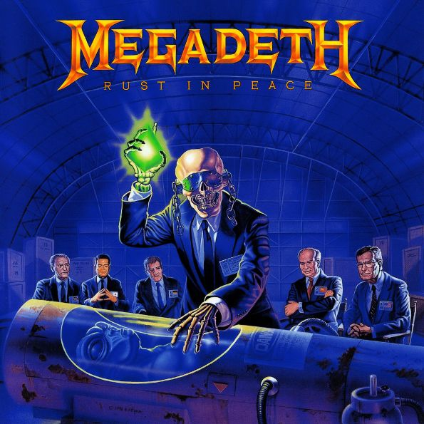 Megadeth – Rust In Peace (LP) 1 1 9l
