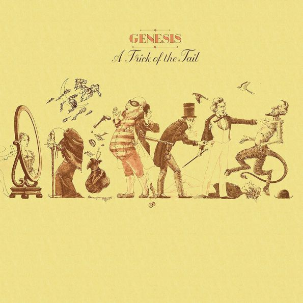 Genesis – A Trick Of The Tail (LP) genesis – the lamb lies down on broadway 2 lp
