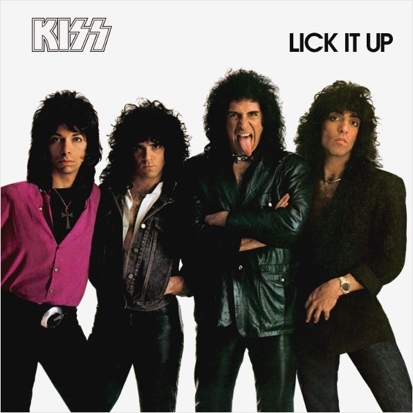 Kiss – Lick It Up (LP) kiss kiss monster lp