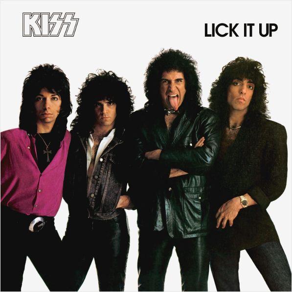 Kiss – Lick It Up (LP)Lick It Up – одиннадцатый номерной альбом Kiss, выпущенный в 1983 году. В день выхода пластинки участники группы появились на MTV без грима. Это было первое выступление Kiss без грима с момента основания коллектива.<br>