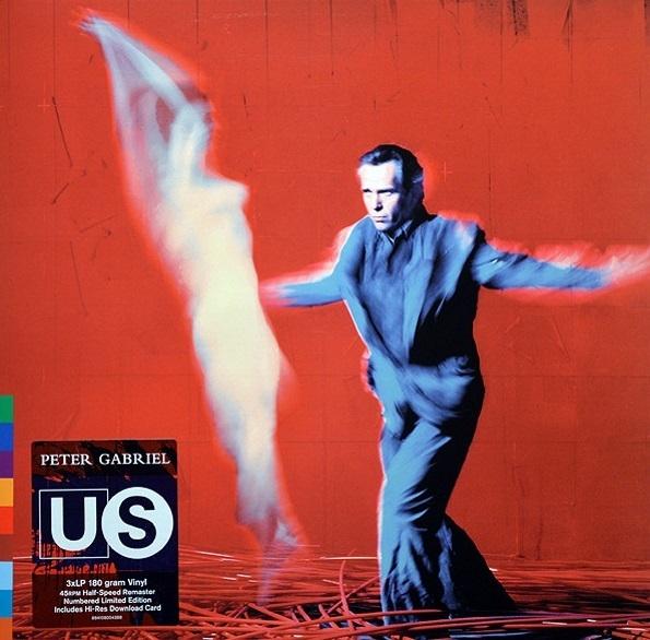 Peter Gabriel – Us (3 LP)Us – переиздание седьмого студийного альбома британского рок-музыканта Питера Гэбриэла, вышедшего в 1992 году.<br>