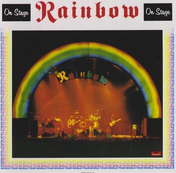 Rainbow – On Stage (2 LP)On Stage – концертный альбом британско-американской группы Rainbow, выпущенный в 1977 году.<br>