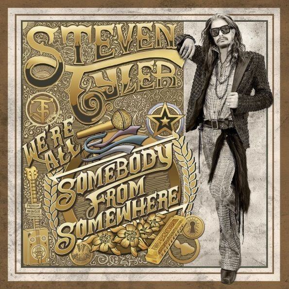 Steven Tyler – Somebody From Somewhere (2 LP)Somebody From Somewhere – сольный альбом бессменного лидера группы Aerosmith Стивена Тайлера.<br>