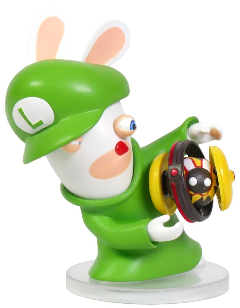 Коллекционная фигурка Mario + Rabbids: Битва За Королевство – Кролик-Луиджи (7,62 см) коллекционная фигурка mario rabbids битва за королевство – кролик луиджи 15 24 см