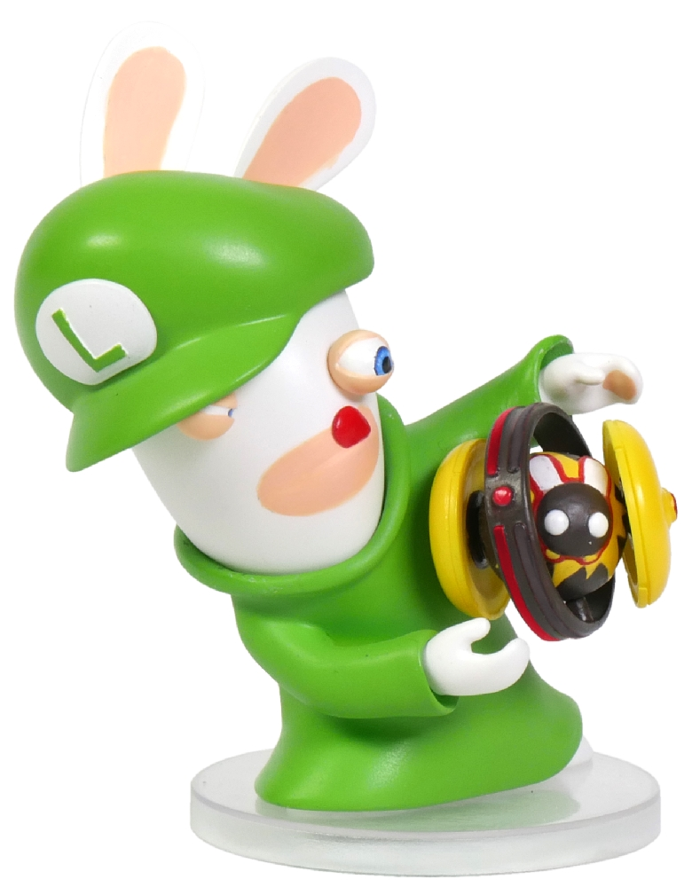Коллекционная фигурка Mario + Rabbids: Битва За Королевство – Кролик-Луиджи (7,62 см) mario rabbids битва за королевство фигурка кролик луиджи 3