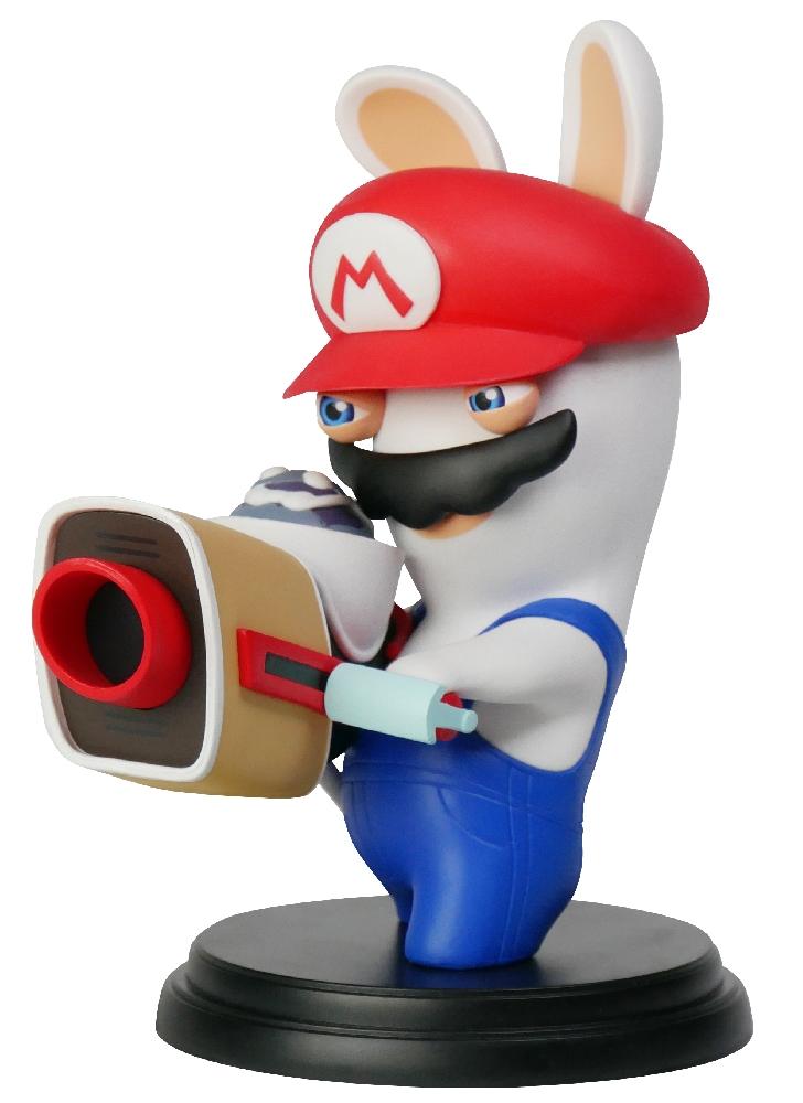 Коллекционная фигурка Mario + Rabbids: Битва За Королевство – Кролик-Марио (15,24 см)Герои являются миру в самые темные времена... Это фигурка Кролика-Марио с пушкой наперевес, жаждущего сию же минуту окунуться в битву. Вероятно, чтобы впечатлить какую-нибудь дамочку!<br>