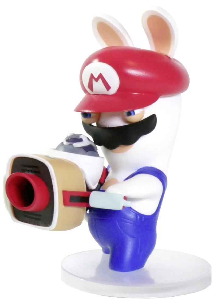 Коллекционная фигурка Mario + Rabbids: Битва За Королевство – Кролик-Марио (7,62 см)Герои являются миру в самые темные времена... Это фигурка Кролика-Марио с пушкой наперевес, жаждущего сию же минуту окунуться в битву. Вероятно, чтобы впечатлить какую-нибудь дамочку!<br>