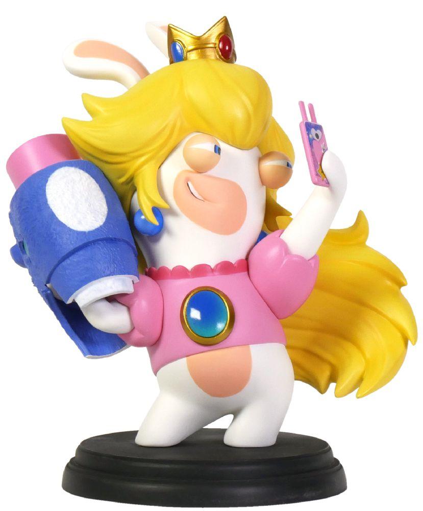 Коллекционная фигурка Mario + Rabbids: Битва За Королевство – Кролик-Пич (15,24 см) mario rabbids битва за королевство фигурка кролик пич 3