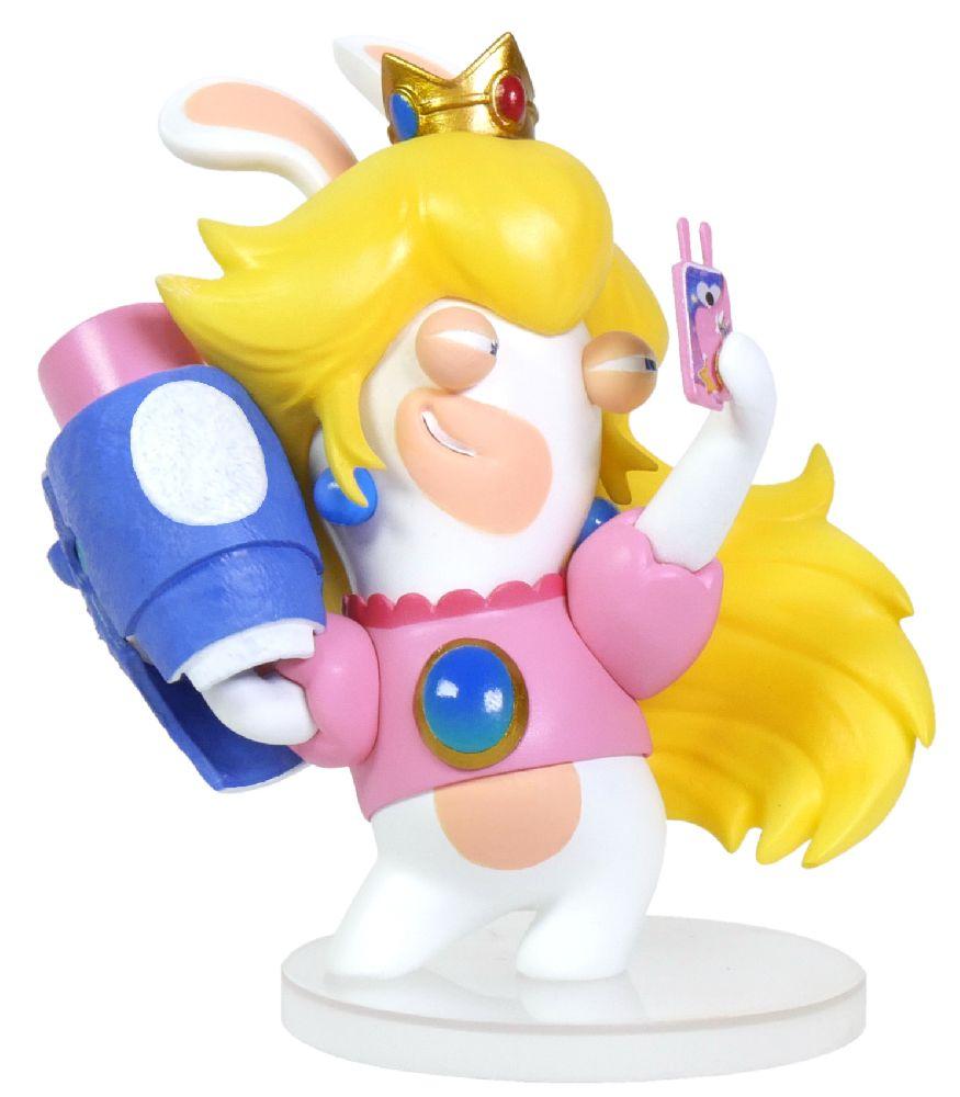 Коллекционная фигурка Mario + Rabbids: Битва За Королевство – Кролик-Пич (7,62 см) mario rabbids битва за королевство фигурка кролик пич 3