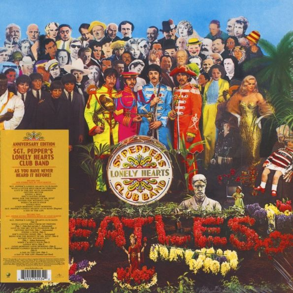The Beatles – Sgt. Pepper's Lonely Heart Club Band (2 LP) beatles beatles anthology 3 3 lp