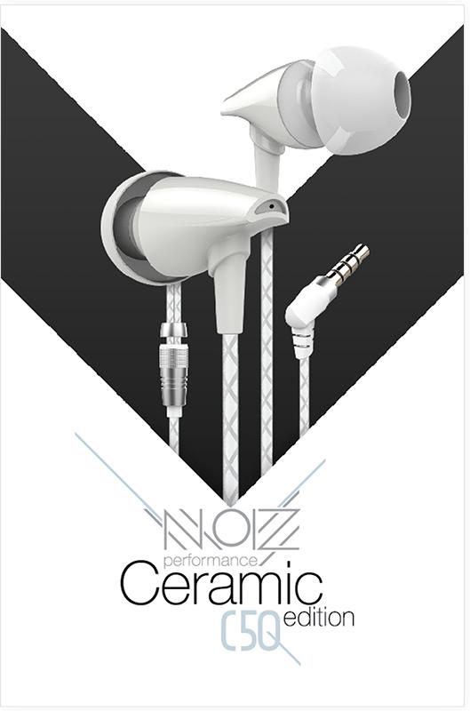 Гарнитура NOIZ Performance Vocal C-50 Ceramic White гарнитура noiz performance hook gray black