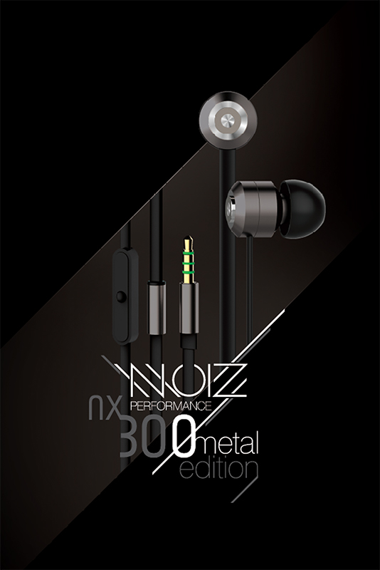 Гарнитура NOIZ Performance NX-300 Gunmetal GreyНаушники NOIZ Performance NX-300 Gunmetal Grey предназначены для обеспечения плоского звука с высоким разрешением с точным стереоизображением при любом уровне звукового давления и для точного воспроизведения каждого нюанса исходного сигнала с наивысшим уровнем точности. Они легкие, удобные и долговечные. Длительные слушания &amp;ndash; это удовольствие. 10-миллиметровый драйвер производит чистую и естественную звуковую сцену.<br>