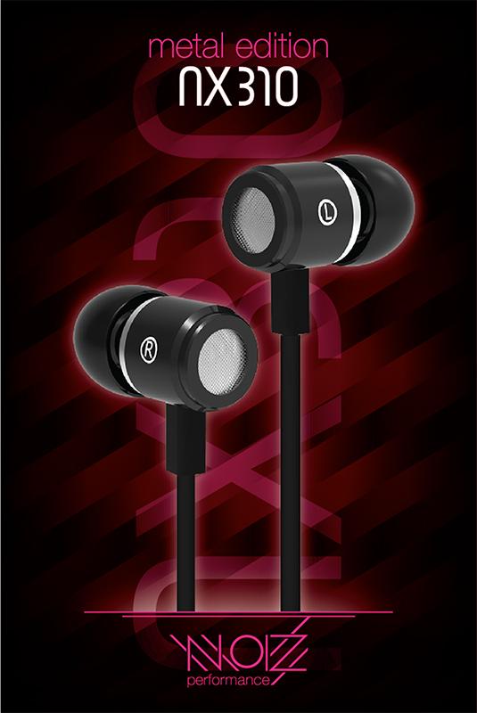 Гарнитура NOIZ Performance NX-310 Black гарнитура noiz performance hook gray black