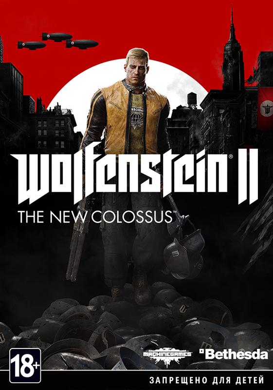 Wolfenstein II: The New Colossus  (Цифровая версия)Релиз игры Wolfenstein II: The New Colossus состоится 27 октября 2017 года, но уже сейчас вы сможете сделать на нее предзаказ.<br>