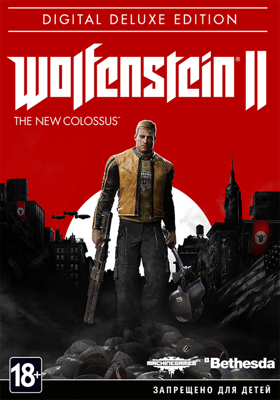 Wolfenstein II: The New Colossus. Digital Deluxe Edition  [PC, Цифровая версия] (Цифровая версия) killing floor 2 digital deluxe edition цифровая версия