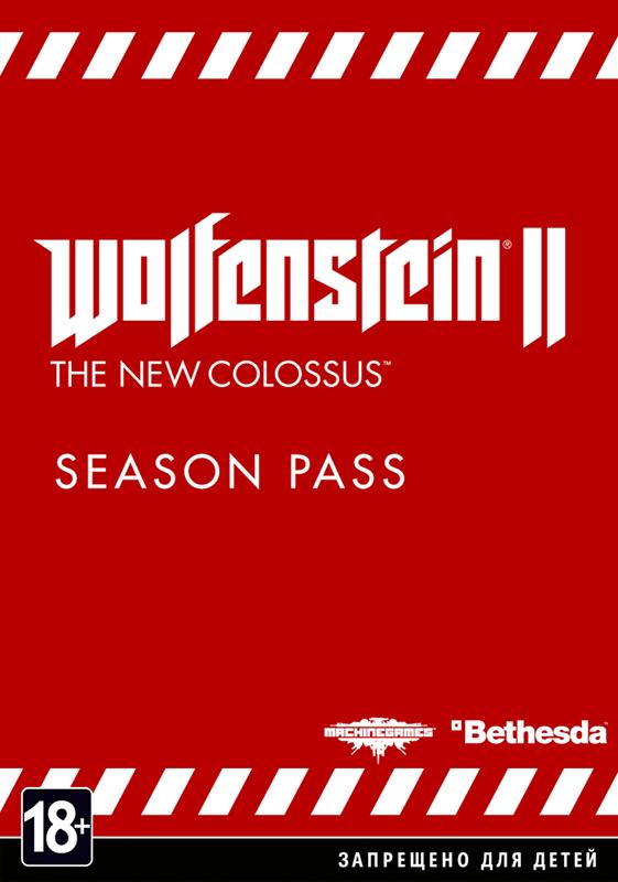 Wolfenstein II: The New Colossus. Season Pass  (Цифровая версия)Релиз издания Wolfenstein II: The New Colossus. Season Pass состоится 27 октября 2017 года, но уже сейчас вы сможете сделать на него предзаказ.<br>