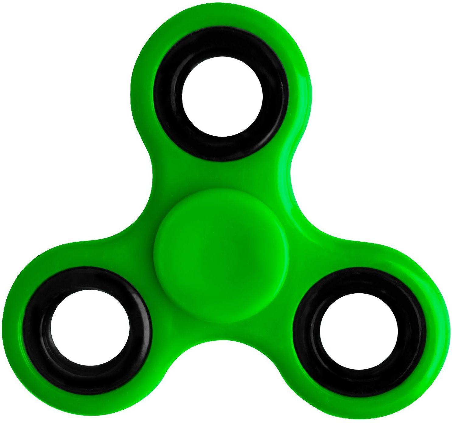 Спиннер пластиковый P21 (зеленый)P21 – 3-х лопастной спиннер с металлическими утяжелителями. Время инерционного вращения – более 2-х минут.<br>