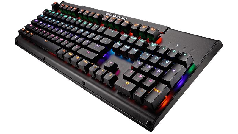 Клавиатура Cougar Ultimus проводная игровая с подсветкой для PC клавиатура cougar 450k