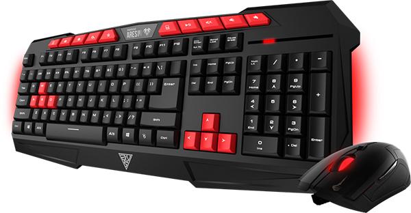Игровой комплект Gamdias: клавиатура Ares V2 Essential + мышь Demeter V2 для PCИгровой комплект Gamdias: клавиатура Ares V2 Essential + мышь Demeter V2, состоящий из клавиатуры с подсветкой и оптической мыши с эргономичным дизайном.<br>